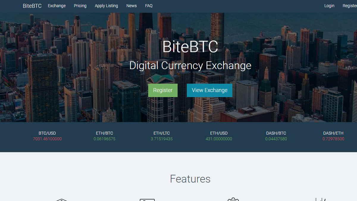 BiteBTC-exchange